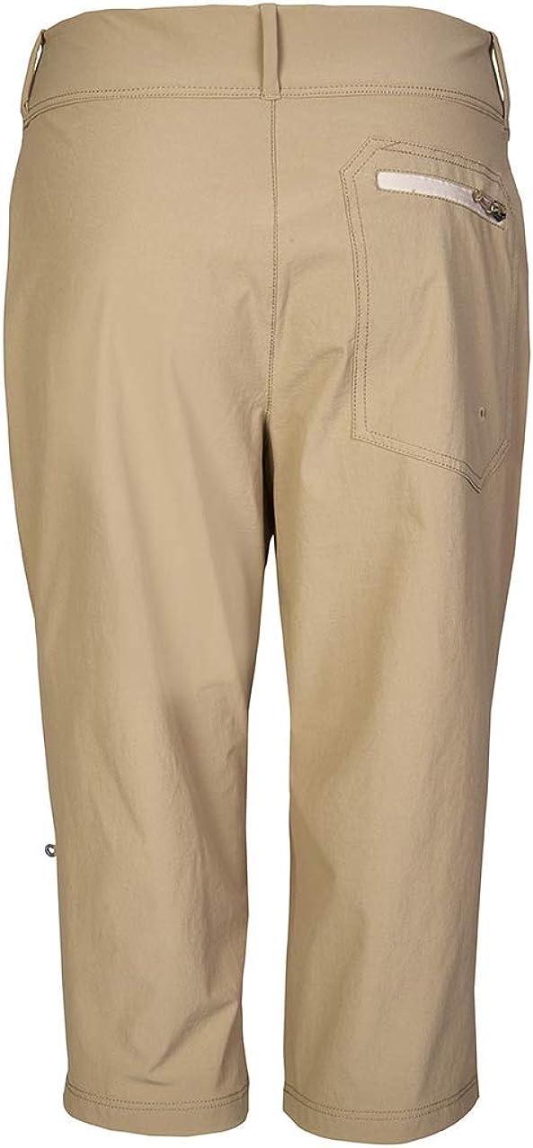 Killtec Ivenia - Pantalon Capri Fonctionnel, cardable - Ivenia - Femme Sable