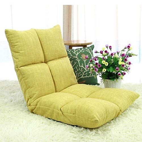 HEIFEN 8 chaises d'extérieur grillagées, canapé Paresseux, Dossier réglable à 6 Angles sans Support Mural, Veste en Coton et Lin, canapé Paresseux Taille 110 * 53 * 14