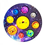 Fidget Toy, Simple Fidget Sensory Toys for Kids, Fidget Toy Stress Anxiety Relief Toys(9 Colored Holes, 7 Inch)