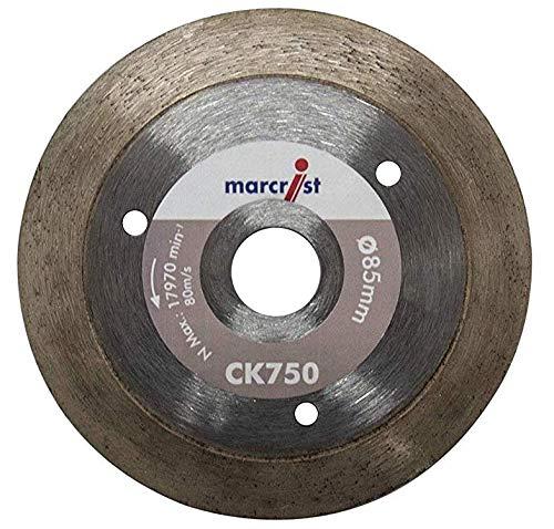 MARCRIST Disco diamantato Ck75085X 15mm piastrelle gres porcellanato Disco diamantato 85mm adatto Makita