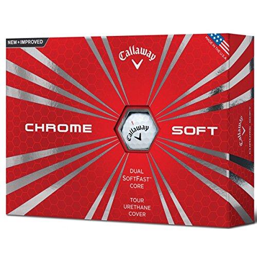Callaway Golf Ball Men's Cg Bl 16Chrom Soft Einheitsgröße weiß