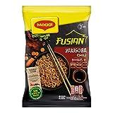 MAGGI Fusian Yakisoba Chili Noodles Istantanei con Verdure e Salsa con Soia, 8 Confezioni da 2 Porzioni