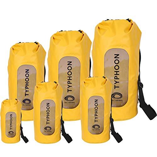 Typhoon Seaton Heavy Duty Roll Top Dry Bags - Yellow 5 LTR