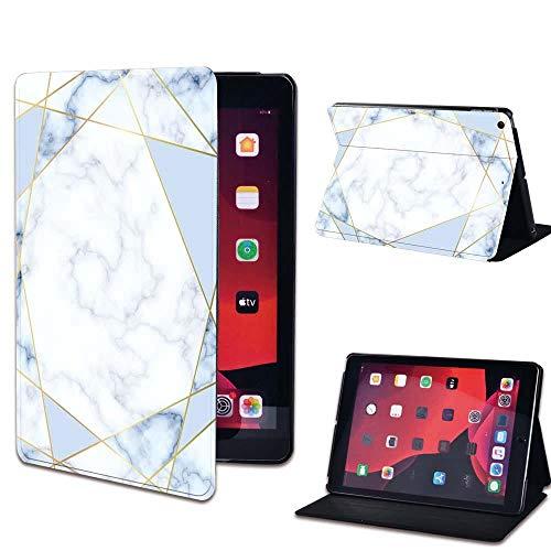 Leather Flip Case for IPad 2 3 4 9.7 Inch/iPad Mini 1 2 3 4 5/iPad Air 3 10.5 Inch/iPad Pro 11 Tablet Stand Cover-15.blue geometric_iPad 2 3 4
