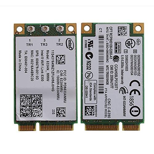 Ontracker - Tarjeta WLAN 533AN_MMW WiFi 5300 para Lenovo ThinkPad X200 X301 W500 T400