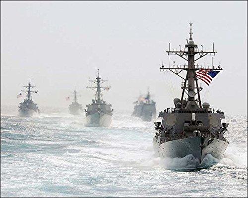 Missile Destroyer USS Porter DDG 78 8x10 Silver Halide Photo Print