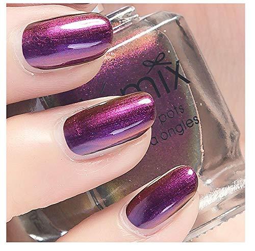 Nagellack, farbverändernder und geschmackloser Aurora Farbnagellack-19