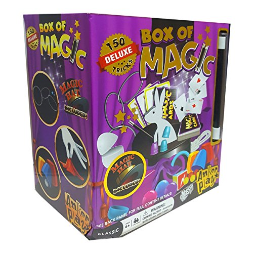 Anker Play Products Box of Magic 150 Deluxe Tricks Magic Hat Included!