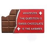 Calamita da frigorifero 3D Svizzera Svizzera del Cioccolato Svizzera Viaggio Regalo Regalo Casa Cucina Decorazione Magnetica Adesivo Svizzera Frigorifero Magnete Collezione