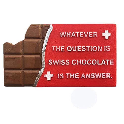 3D Zwitserse Chocolade Zwitserland Koelkast Magneet Travel Souvenir Gift Home Keuken Decoratie Magnetische sticker Zwitserland Koelkast Magneet Collectie