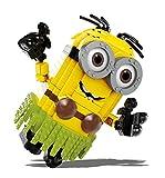 Ispirato al nuovo film Cattivissimo Me 3 Minion Dave da costruire in tenuta hawaiana alto ben 25.4 cm con braccia snodate Set da oltre 650 pezzi Mega Dave da usare anche come salvadanaio Compatibile con altri marchi di costruzioni