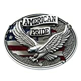 Urban Backwoods American Pride III Fibbie per cinture Belt Buckle