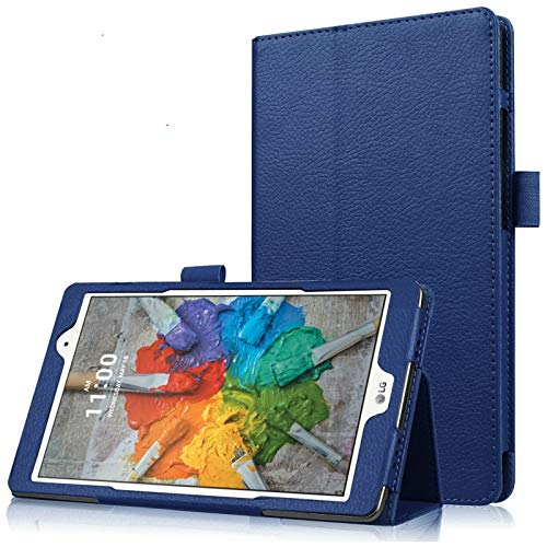 Asng G Pad X 8.0 / G Pad III 8.0 Case - Slim Folding Stand Cover Smart Case for G Pad X 8.0 (V521) / AT&T (V520) / G Pad III 8.0 (V525) 8-Inch Tablet (Drak Blue)