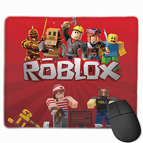 Computer Mouse Pad Robloxs Waterproof Mouse Pad Non-Slip Multi-Size Mousepad for Office Gaming Home, 7 x 8.6 in