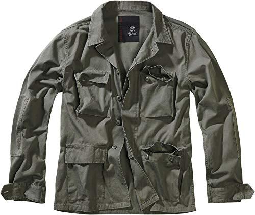 Brandit BDU Twill Jacket Übergangsjacke Oliv M
