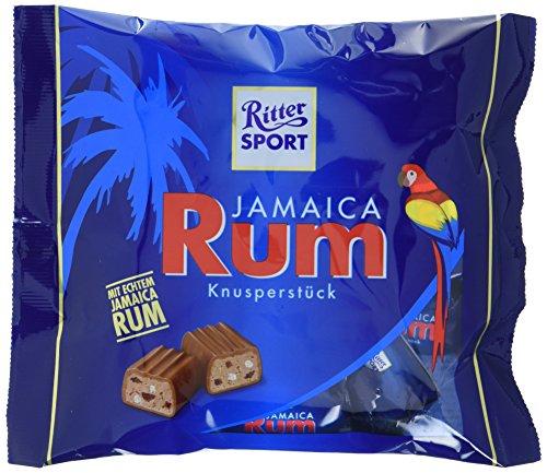 RITTER SPORT Jamaica Rum Knusperstück, 10er Set (10 x 200g Tüten)