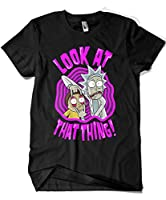 Camisetas La Colmena 2148-Camiseta Look at That Thing (Demonigote)