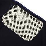 Almohadilla térmica Manta térmica profesional Calentador de espalda para invierno para hombres para aliviar el dolor de espalda para uso en la oficina(blue, Universal)