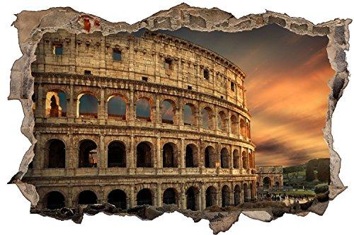 Colosseum Rom Antike Italien Wandtattoo Wandsticker Wandaufkleber D0942 Größe 40 cm x 60 cm
