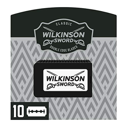 Wilkinson Sword Classic Vintage Edition Rasierklingen für Rasierhobel Hochwertig und besonders langlebig 10 Stk.
