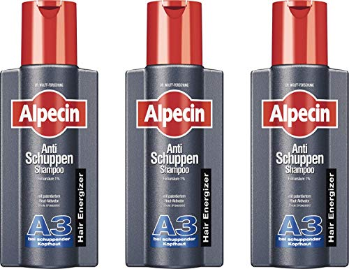 Alpecin A3 Anti Schuppen Schampoo 3x250 ml
