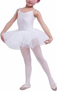 Buenos Ninos Girl's Leotard Ballet Clothes Tutus Dance Dress kids toddler Tights costume clothing Skirts