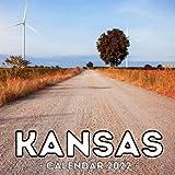 Kansas Calendar 2022: 16-Month Calendar, Cute Gift Idea For Kansas State Lovers Women & Men