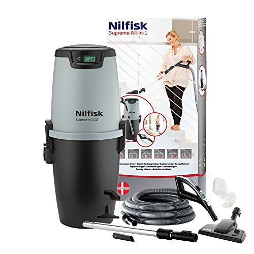 Nilfisk All-in-1 Supreme LCD Aspirateur Centrale Deluxe Pack complet