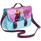 Disney Frozen 2 Borsetta Bambina, Borse A Tracolla Con. Glitter, Borsa Bimba Con Principesse Anna E Elsa, Idea Regalo Compleanno E Natale Accessori Fashion Bimbe