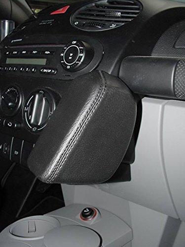 KUDA 096121 - Supporto in vera pelle, colore: crema (33063) per VW New Beetle (I 9C) dal 11/1998 e Cabrio