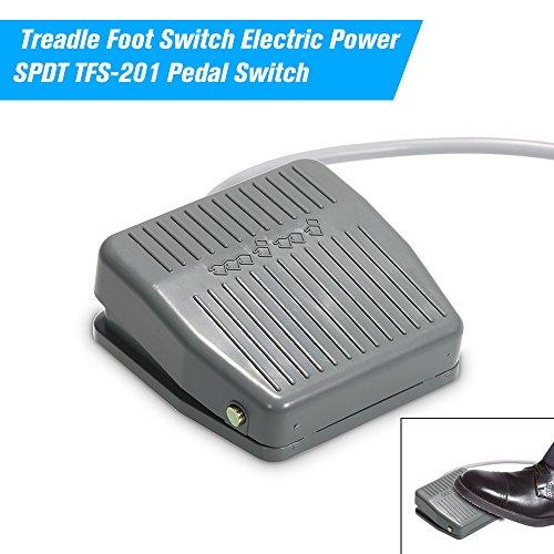 Interruptor de Pedal de Control moment/áneo EKW-5A-B de ESden AC 380 V DC 220 V SPDT