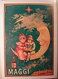 Maggi, Mond, 50 x 70 Cm/Poster Poster