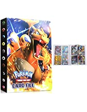 Albums for Pokemon Card Binder, Trading Card Album, Pokemon Card Notebook Holder, Card Protection Card Case, Holds 240 Cards (Back-to-Back) (Charizard)