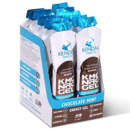 KMC NRG Gel: Gel energético sabor menta chocolate (70 g)
