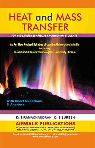 Heat And Mass Transfer (English Edition)