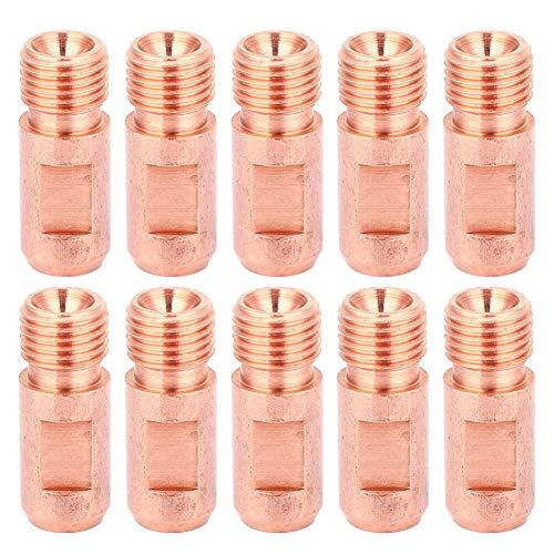 Estable Contacto Consejo Gas Difusor Consejo Poseedor Colocar, Cobre Material Electricidad Conductividad 10pcs Arco Soldadura Boquilla Cobre