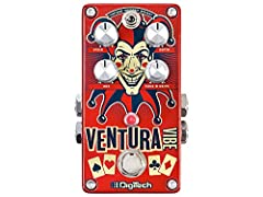Three Unique Rotary/Vibrato Types: Vintage - Inspired by vintage phaser-based Uni-Vibe effects Modern - Original pure pitch-based vibrato effect Rotary- Based on a Leslie speaker rotary effect Slow to fast Foot-Switchable speeds Compact Size with Sof...