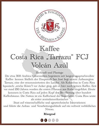"""Costa Rica """"Tarrazu"""" FCJ Volcán Azúl Kaffee 1kg"""