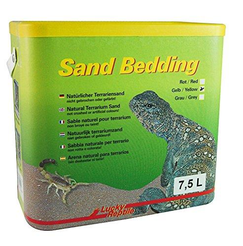Lucky Reptile SB-Y Sand Bedding 7.5 l, Bodengrund für Wüstenterrarien, gelb