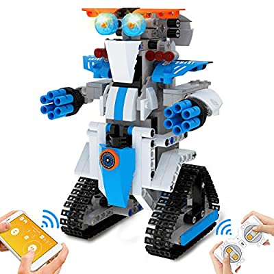 NextX Building Toys Robot for Kids STEM Brick Toy Remote & APP Controlled Robots Educational Learning Science Gifts for Boys and Girls