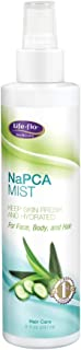 Life-flo NaPCA Mist | Hydrating Spray for Face, Body and Hair | With Aloe and Sodium PCA for Softer, Fresher Skin | 8oz