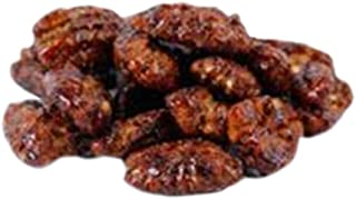 Q's Nuts - Maple Bourbon Pecans - Nut Artisan - Vegan Flavored Nuts - no Gluten, Soy or Dairy - Sweet Maple and Real Bourb...