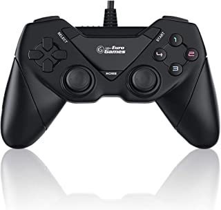 RPM Euro Games Laptop/PC Controller for Windows - 7, 8, 8.1, 10 and XP, Ps3