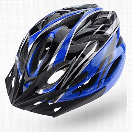 JM- Fahrradhelm männlich Mountainbike Helm Fahrradhelm integriert Formteil Reitausrüstung Hut Reithelm (Color : A)