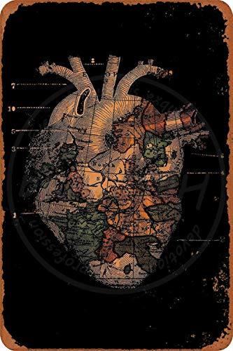 Care for the environment Amerikanische Art Metallschilder Vintage Nostalgische Werbung Eiskaltes Getränk Plaque Bar Cafe Familie Dekorative Wandaufkleber Kunst Poster