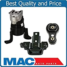 3Pc New Torque Engine Motor Mount Strut Fits For Mazda 2 Manual Transmission Only 2011-14