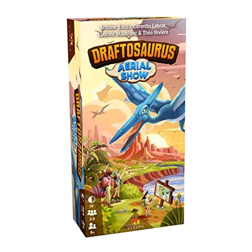 Ankama – Juego de meeples – Draftosaurus – Extensión Aerial Show