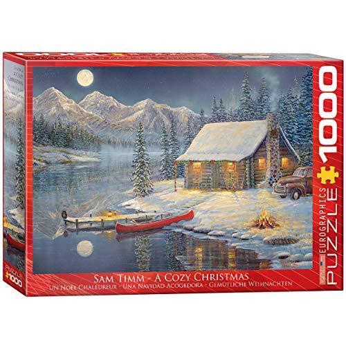 EuroGraphics Cozy Christmas Puzzle (1000 Piece)