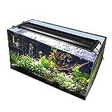 LED Aquarium Licht Volles Spektrum Süßwasser Aquarium Licht mit Fischtank Beleuchtung Wasserdichte Aquarium Haube Beleuchtung Für Pflanze Süßwasser Aquarium Aquarium Tank Refugium ( Size : 40CM )