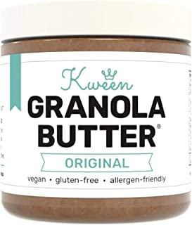 Sponsored Ad - Kween Original Granola Butter (1 Jar - 10oz) | Peanut-Free, Tree Nut-Free and Gluten-Free Snack Spread